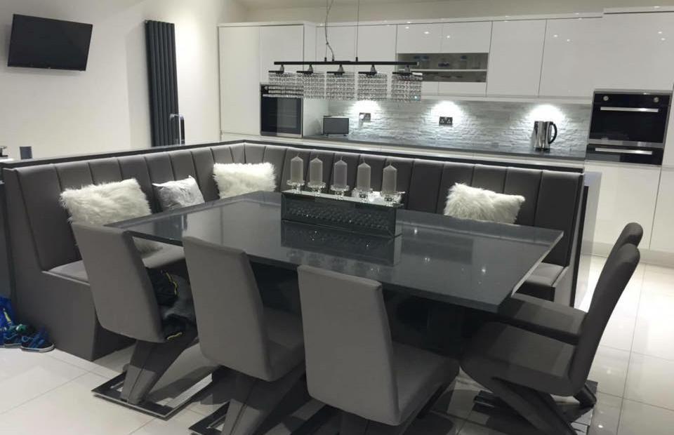 Contemporary bespoke kitchen